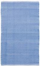 Load image into Gallery viewer, Dash & Albert - Herringbone Indoor/Outdoor Rug - French Blue / White