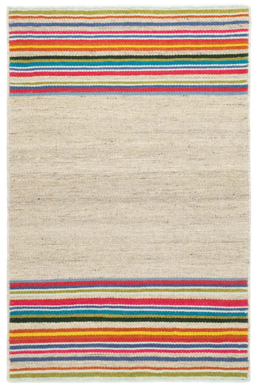 Dash & Albert - Fontana Multi Wool Woven Rug - NEW!