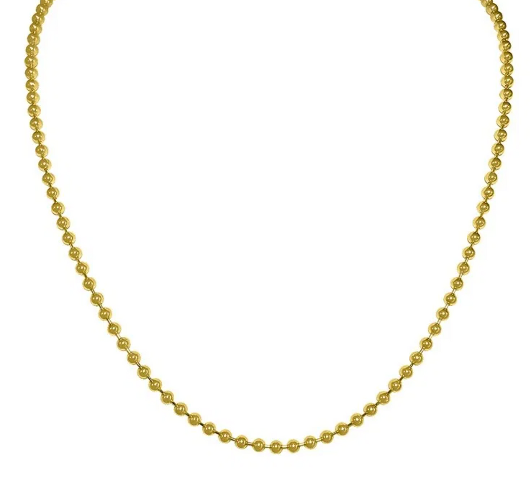 Lola - Gold Ball Chain