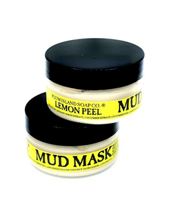 Plum Island Soap Co. - Lemon Peel Mud Mask