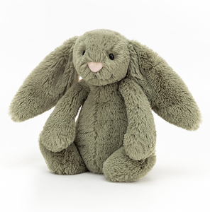 Jellycat - Smalll Bashful Green Bunny