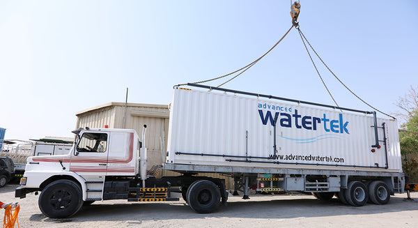 Advanced Watertek containerised filtration system