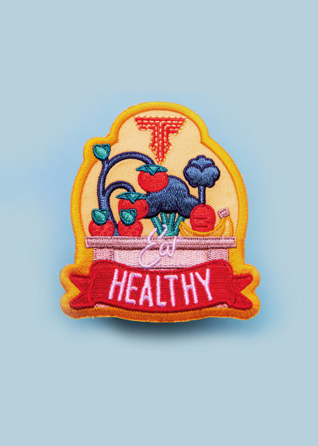 Eat Healthy ROOTS Patch