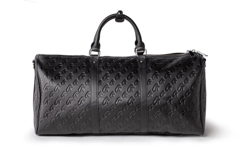 MONOGRAM UNISEX DUFFLE BAG MATTE BLACK