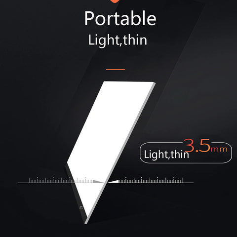 Light Tracing Pad, Light Tracing Box, Light Pad, Light Box For Drawing, Lighted Drawing Pad, Tracing Board, Drawing Board With Light, Tracing Tablet, A4 Light Box - Avolve