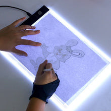 Load image into Gallery viewer, Light Tracing Pad, Light Tracing Box, Light Pad, Light Box For Drawing, Lighted Drawing Pad, Tracing Board, Drawing Board With Light, Tracing Tablet, A4 Light Box - Avolve