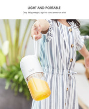 Load image into Gallery viewer, Portable Blender Bottle, Personal Blender, Mini Blender, Mini Juicer, Cordless Blender, Portable Juicer, Personal Blender For Smoothies, Smoothie Maker - Avolve