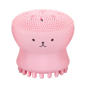 CUTE OCTOPUS FACIAL CLEANSING BRUSH - TheAvolve