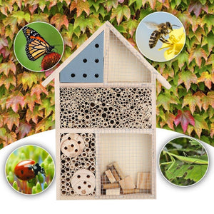 Wooden Insects And Bees House