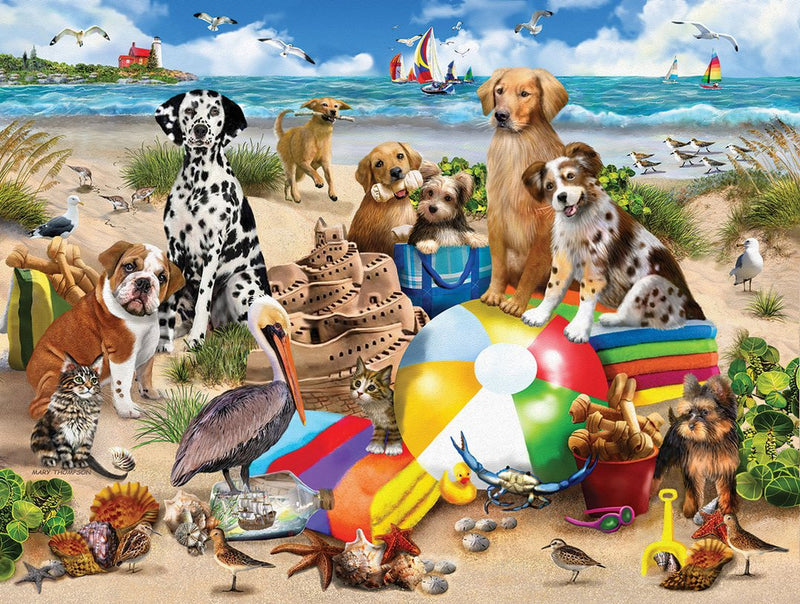 BEACH BUDDIES PUZZLE