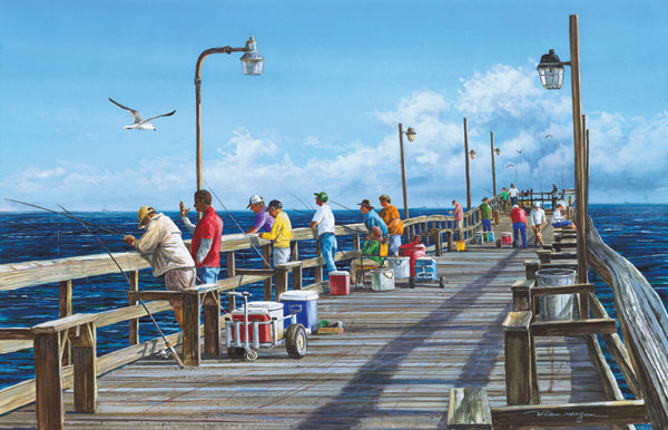FISHING PIER PUZZLE