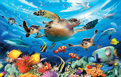 JOURNEY OF THE SEA TURTLE PUZZLE