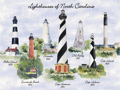 LIGHTHOUSES OF NORTH CAROLINA PUZZLE