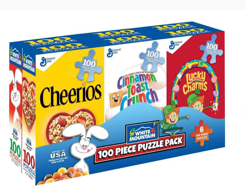 SIX PACK CEREAL BOXES PUZZLE
