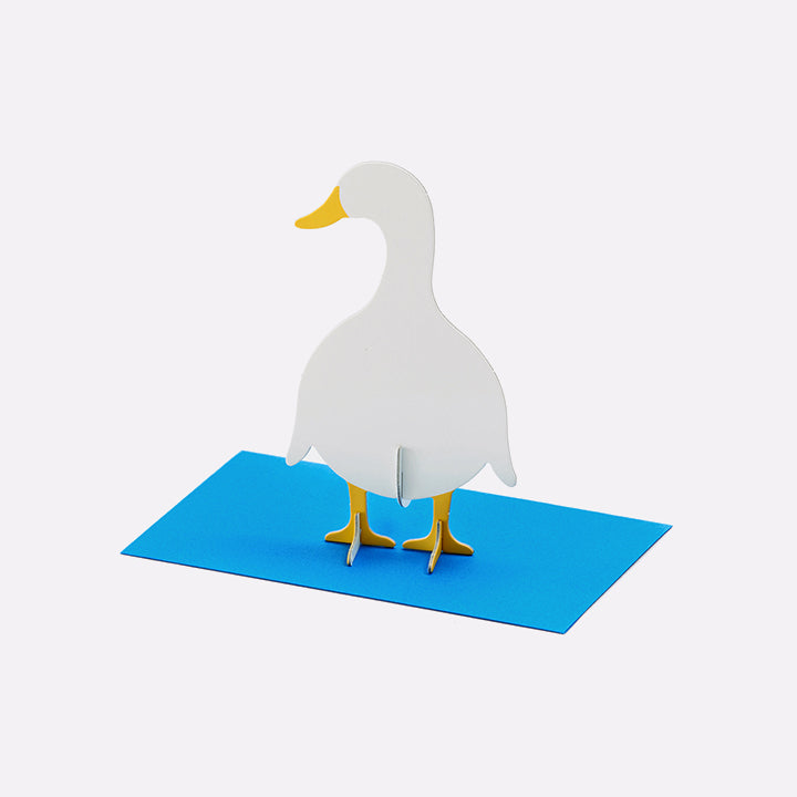 Atvirukas. Post Animals - Duck