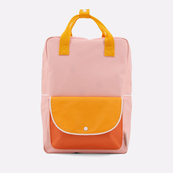Kuprinė. Dydis [L], sunny yellow + carrot orange + candy pink