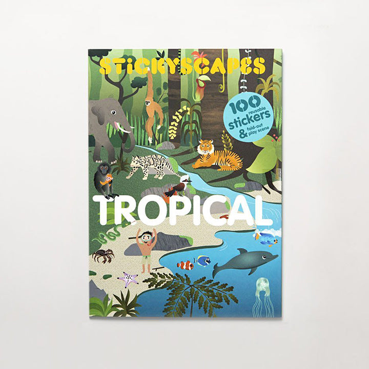 Stickyscapes: Tropical