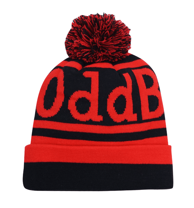 Obble Hat - 12 - Black/Scarlet