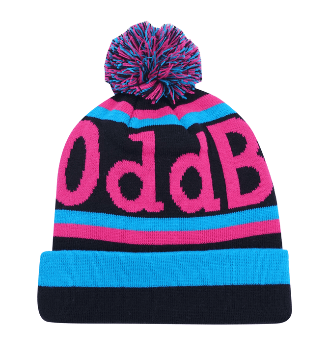 Obble Hat - 5 - Black/Cyan/Magenta