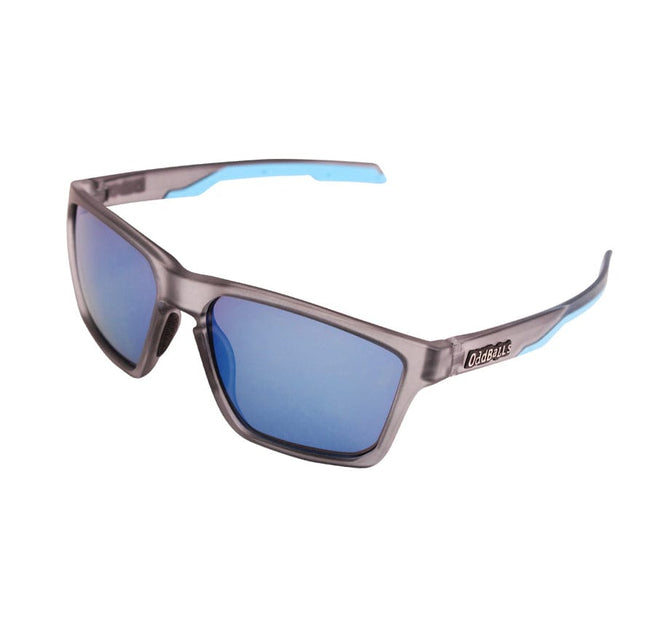 Sunglasses - Frosted Grey + Cyan