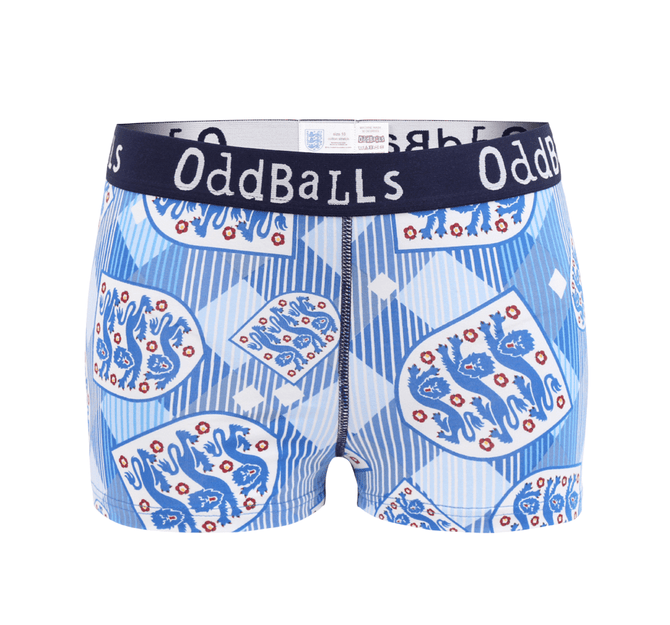 ENGLAND FA  - Retro -  Teen Girls Boxers