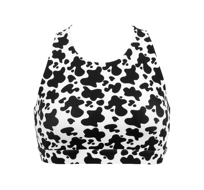 Fat Cow - Teen Girls Sports Bra
