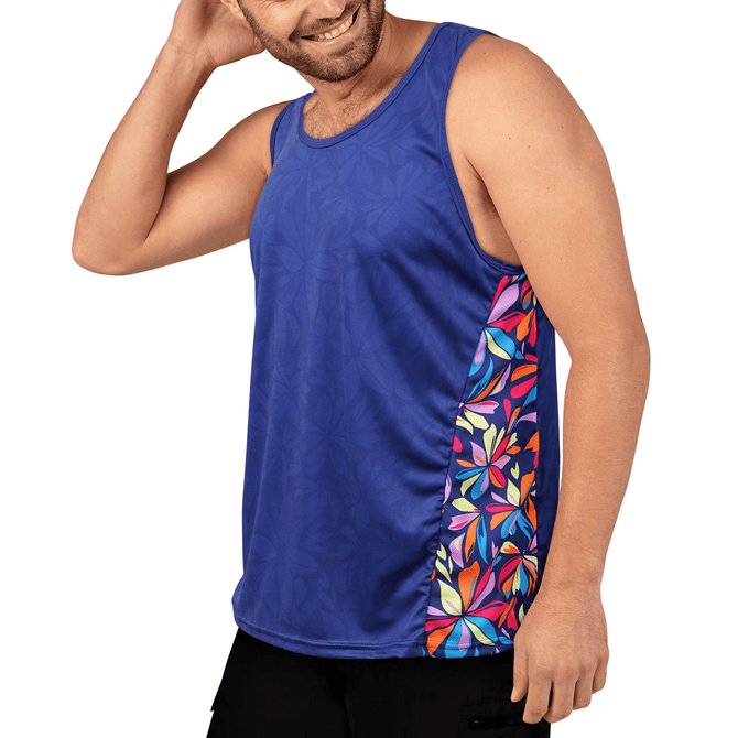 Running Vest - Tech Fit - Flower Power