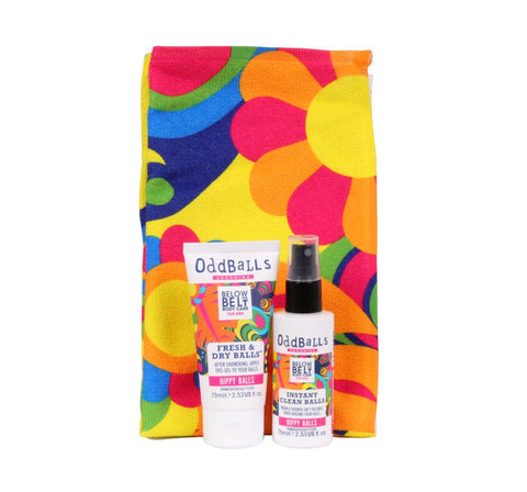 Grooming Mini Towel Gift Set - Hippy Balls