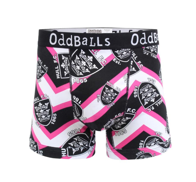 HULL FC Magenta - Teen Boys Boxer Shorts