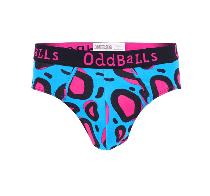 Lazy Leopard - Teen Boys Briefs