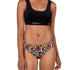 Teen Girls Seamless Brazilian Briefs - Disco