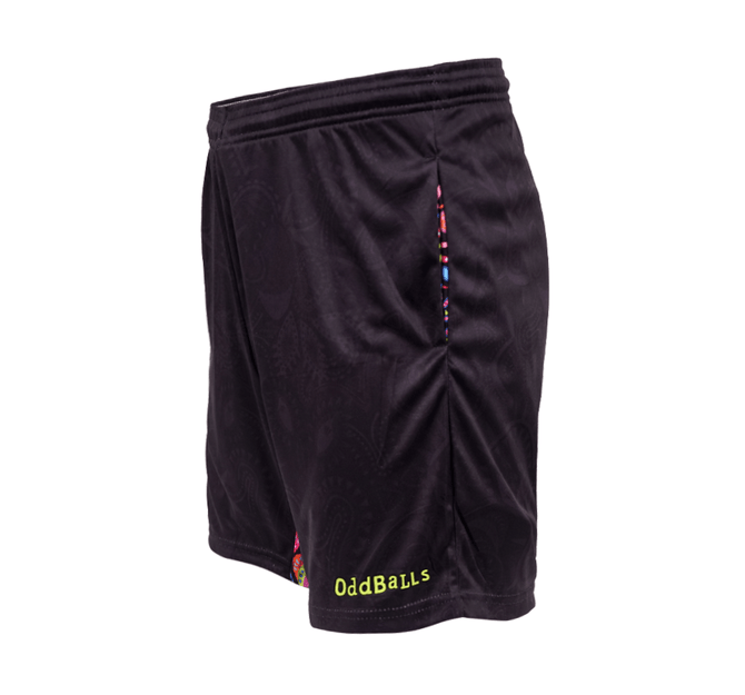 Mens Sport Shorts - Tech Fit - Neon Rave