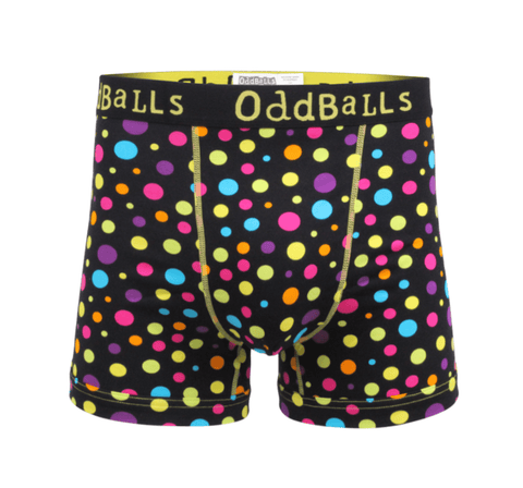 Polka Dots - Mens Boxer Shorts