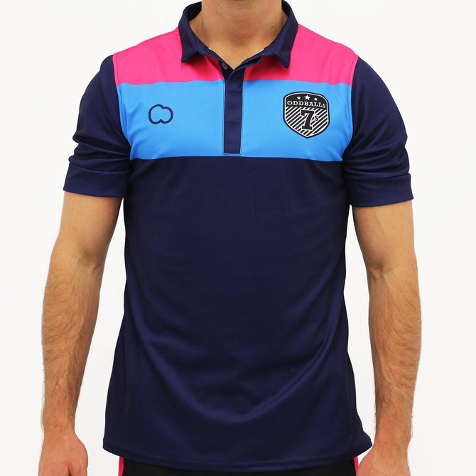 Polo Shirt - Navy - OddBalls 7s