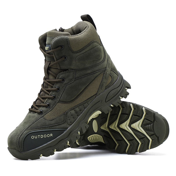 Men's hunting hiking camping mountaineering winter work shoes