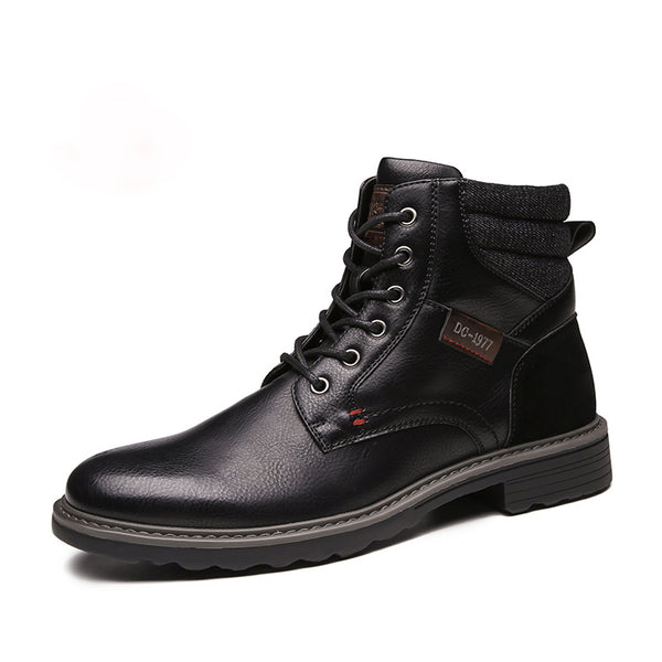 2020 autumn fashion shoes men's durable outsole men's casual boots