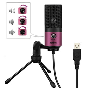 laptop,USB condenser recording microphone