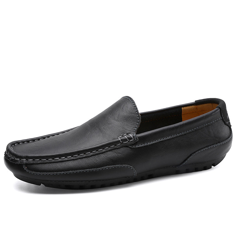 Leather men's casual shoes 37-47