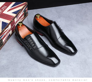 British fashion business dress men's shoes Oxford shoes size 37-48