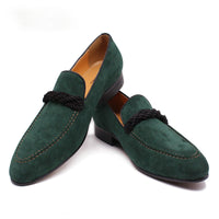 Luxury men's suede casual shoes