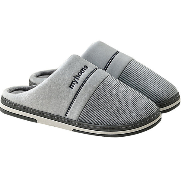 Winter home indoor men's slippers