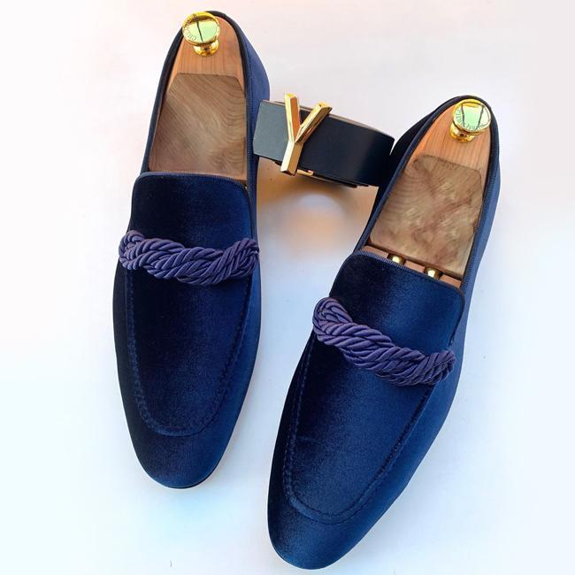 New Suede Pointed Toe Loafers - utopiamoment