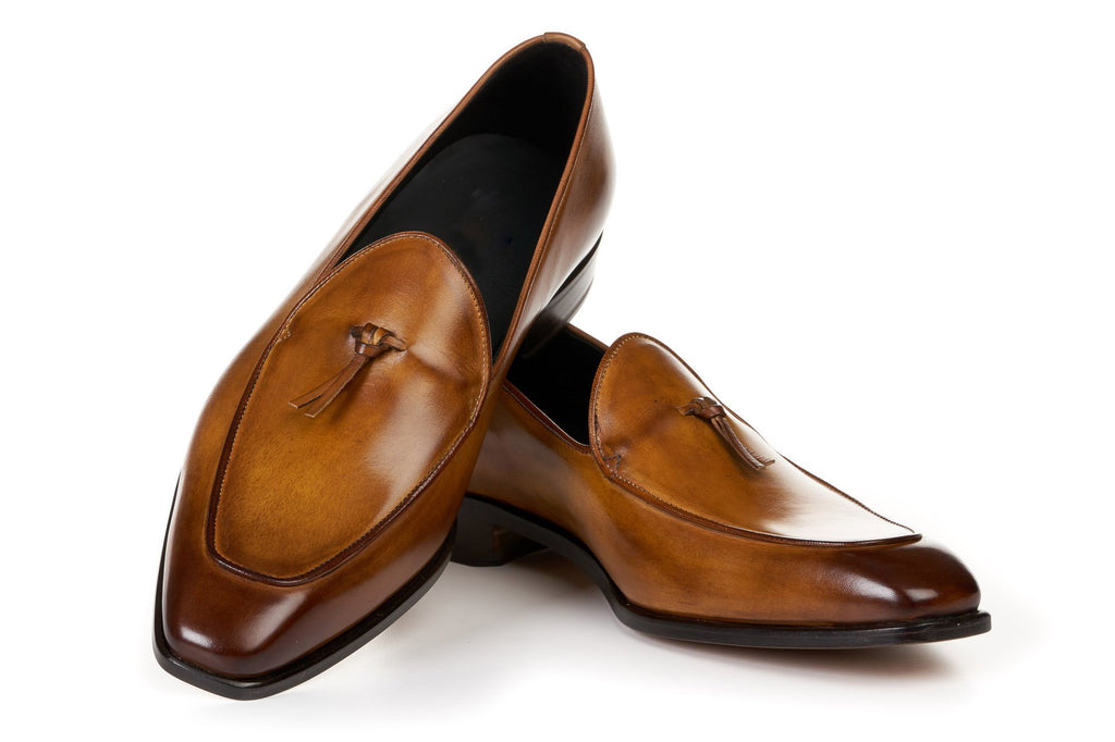 High-end fashion design Belgian loafers - utopiamoment
