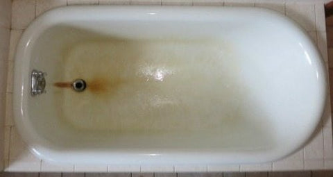 bathtub rust