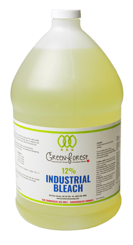 12% Chlorine Industrial Bleach - Green Forest Cleaning