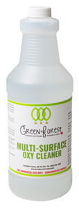 Multi-Surface Oxy Cleaner Concentrate - Green Forest Cleaning