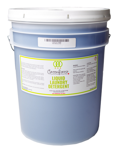 Liquid Laundry Detergent 20L Pail - Green Forest Cleaning