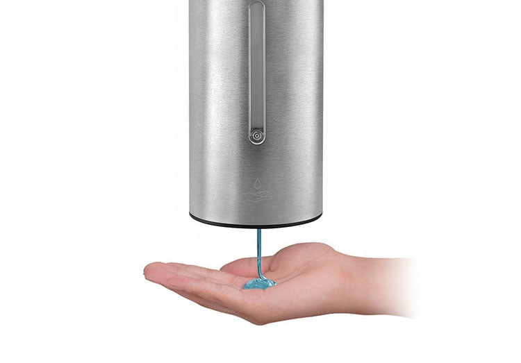 Automatic Wall Mounted Dispenser & 4L 70% Hand Sanitizer Bundle - Green Forest Cleaning