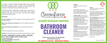 Load image into Gallery viewer, Cleaner/Descaler/Sanitizer Bathroom Cleaner Concentrate - 1L - Green Forest Cleaning
