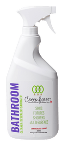 Cleaner/Descaler/Sanitizer Bathroom Cleaner - Ready to Use 800ml Spray - Green Forest Cleaning